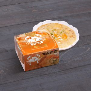 超值Set!韓國即食醬油蟹肉+即食湯飯3入+低卡椰菜飯
